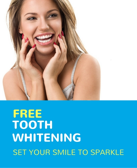 free tooth whitening for new patients offer